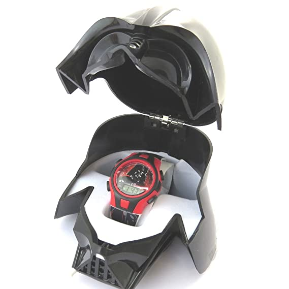 3d caja del reloj digital Star Wars(darth ...