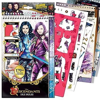 The Descendants Style Me Up Reg. Sketchbook: Toys & Games