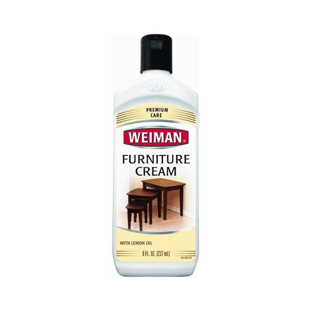 Amazon.com: Weiman Furniture Cream with Lemon Oil, 8 fl oz.: Home ...