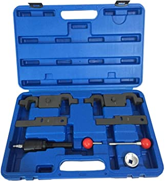 FreeTec Cam Camshaft Timing Tool Repair and Replacement Set Compatible with Porsche Cayenne Panamera Engine V8 4.5L 4.8L V6 3.6L and Audi Q7 9678 9595