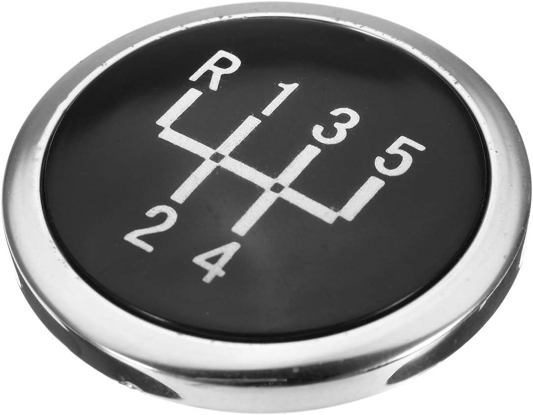 PeroFors 5 Velocidad 6 Velocidad Coche Engranaje Cambio Perilla Tapa Tapa para Chevrolet Chevy Cruze 2008-2012-6 Velocidad