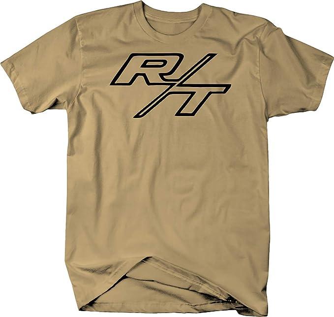 R//T RT Dodge Mopar Charger Challenger Hemi V8 Muscle Car Logo T Shirt Shirt-H235