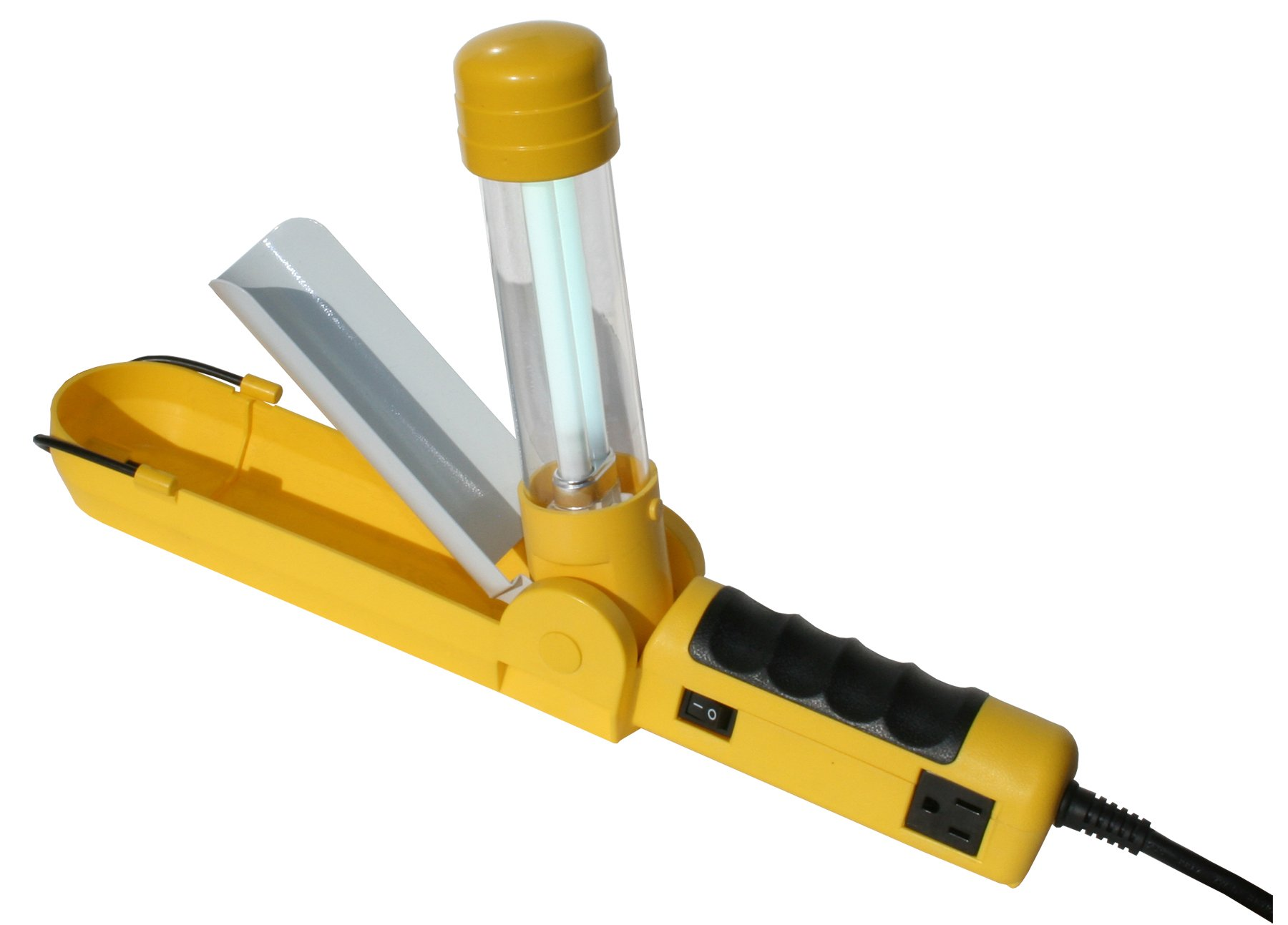 ElumX TF250R Flip-up 13-Watt Work Light/Task Light with Receptacle, Fluorescent
