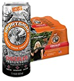 Sportsman Chocolate Protein Shake, 11 Ounce Cans (Case of 12) for Hunters