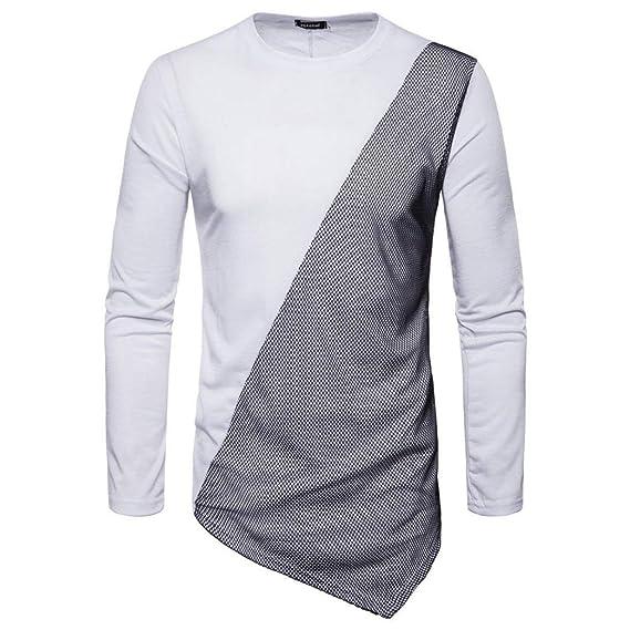 BaZhaHei-Camisetas de hombre Blusa los Hombres de Moda otoño Conjunto de Plumas largas Sudaderas