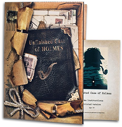 iDventure Unfinished case of Holmes - Escape Room game for home