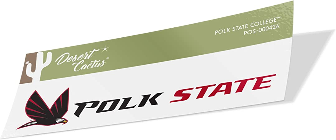 Polk State College Eagles NCAA Vinyl Decal Laptop Water Bottle Car Scrapbook Sticker - 00040A
