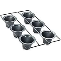 Wilton Popover Pan Ultra Bake 2 Non-Stick 6 Cavity