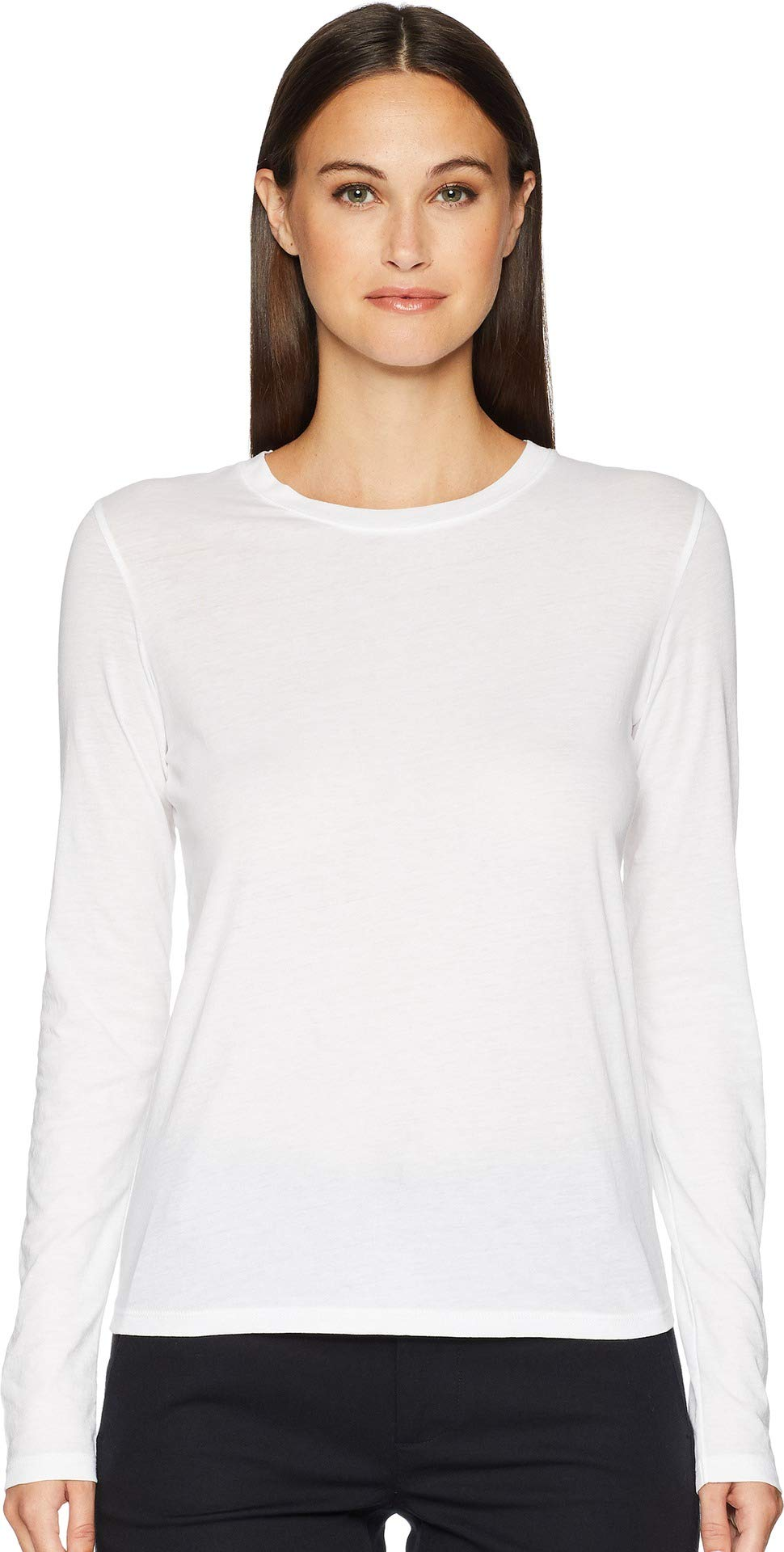 Vince Women's Essential Tee, Optic White, Small