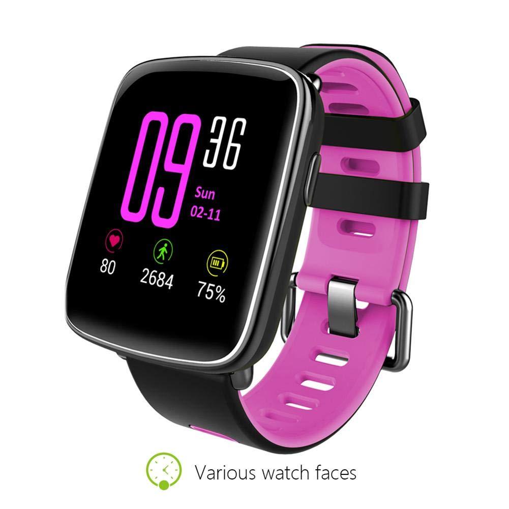 King KINGWEAR GV68 smartwatch con Pulsómetro,Impermeable ...