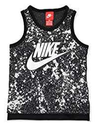 Nike Little Boys' Tank Top (Sizes 4 - 7) - black, 4