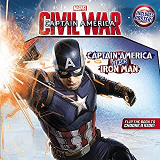 Book Cover: Marvel's Captain America: Civil War 8x8 w/Add-On