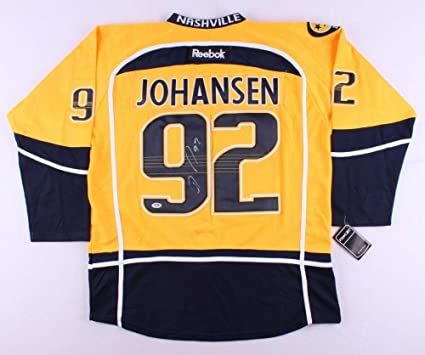 Ryan Johansen Autographed Signed Predators Jersey - PSA DNA Certified 8b48d4592