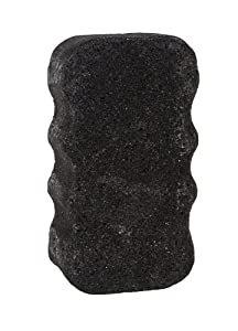 Spongeables Charcoal Body Wash in a Sponge, Sweet Sangria, Moisturizer for the Body, Aromatherapy Body Wash Infused Sponge, 20+ Washes, 3.5 oz Sponge