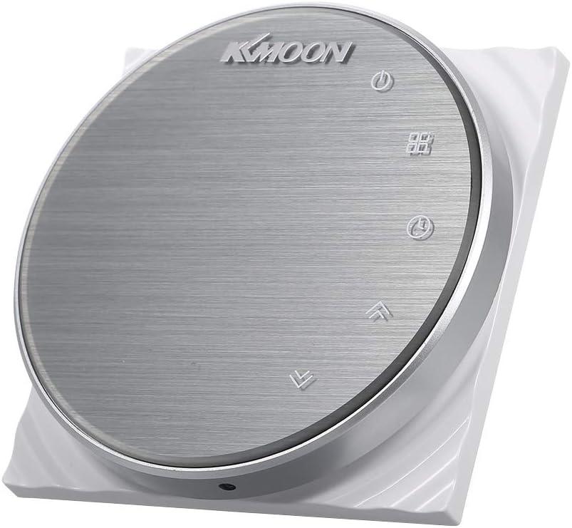 KKmoon 5A AC 95-240V Termostato Inteligente para Caldera de Gas,Wifi Regulador de Sistema de Caldera de Gas,Controlador con Pantalla Negativa Táctil LCD,Programable