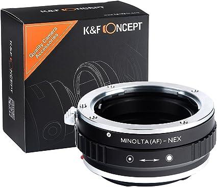 K&F Concept Minolta(AF)-NEX Adaptador Cámara Adaptador de Lente ...