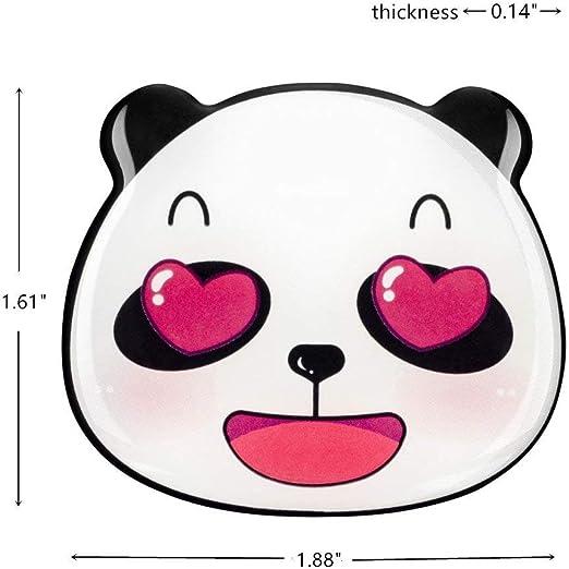 aimants dr/ôles de Panda aimants de Tableau Blanc la d/écoration de Salle de Classe de Bureau /à la Maison YILAITE Aimant de r/éfrig/érateur A Coffre-Fort des Enfants