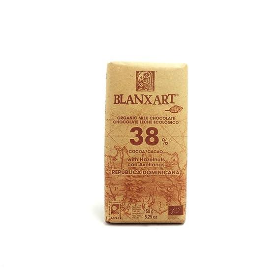 Blanxart - Ecológico - 38% Leche Avellanas - 150g
