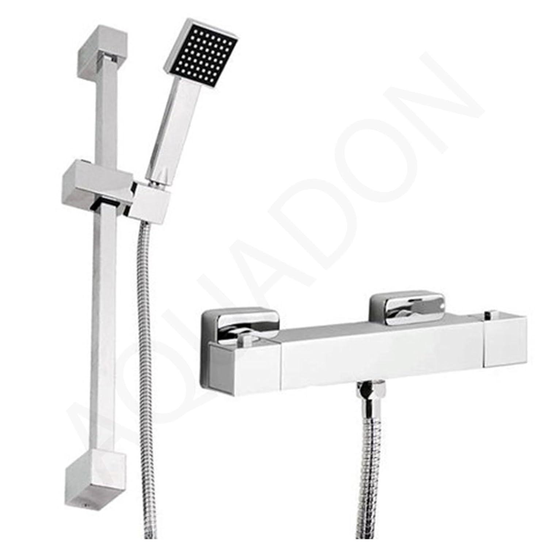 Generic YanHongUk150730-340 1yh2310yh ider Rail Kit Square Shower Bar e + Quality Thermostatic Thermosta Mixer Valve Shower B Chrome Chrome S Quality Slider Rail Kit YanHongUK3_150730_196