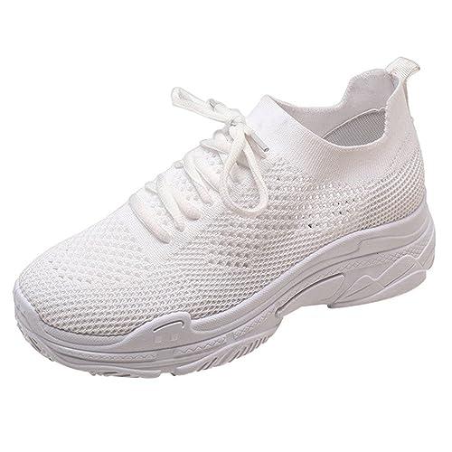 Culater Zapatillas Mujer Zapatos Casuales Caminar al Aire Libre Deportivos Estudiantes: Amazon.es: Zapatos y complementos
