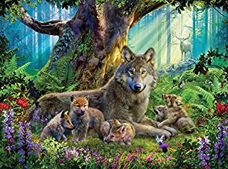 product image for Ceaco Forest Wolves - 1000Piece Puzzle