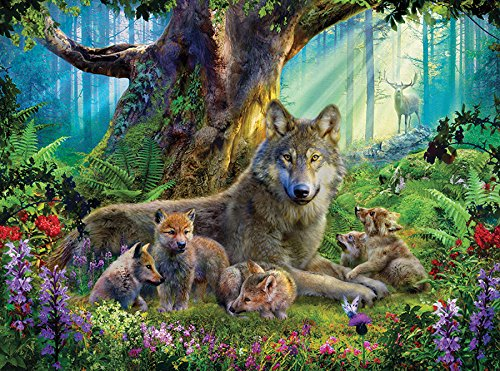 wolf 1000 piece puzzle - 7