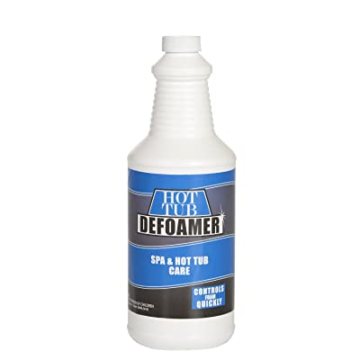 Bluewater Chemgroup Spa and Hot Tub Defoamer - Quickly Takes Foam Down - 32 Ounce Quart : Garden & Outdoor