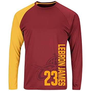 Mens NBA Cleveland Cavaliers Swift Pass – Lebron James # 23 camiseta de manga larga,