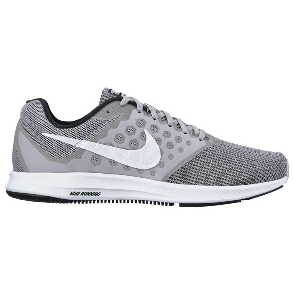 Nike Herren Downshifter 7 Laufschuhe  43 EU|Grau (Wolf Grey/White)