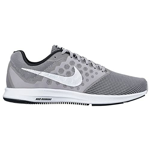 5b0d9383ed39a Nike Men s Downshifter 7 Running Shoe Wolf Grey White Black Size 13 M US   Buy Online at Low Prices in India - Amazon.in