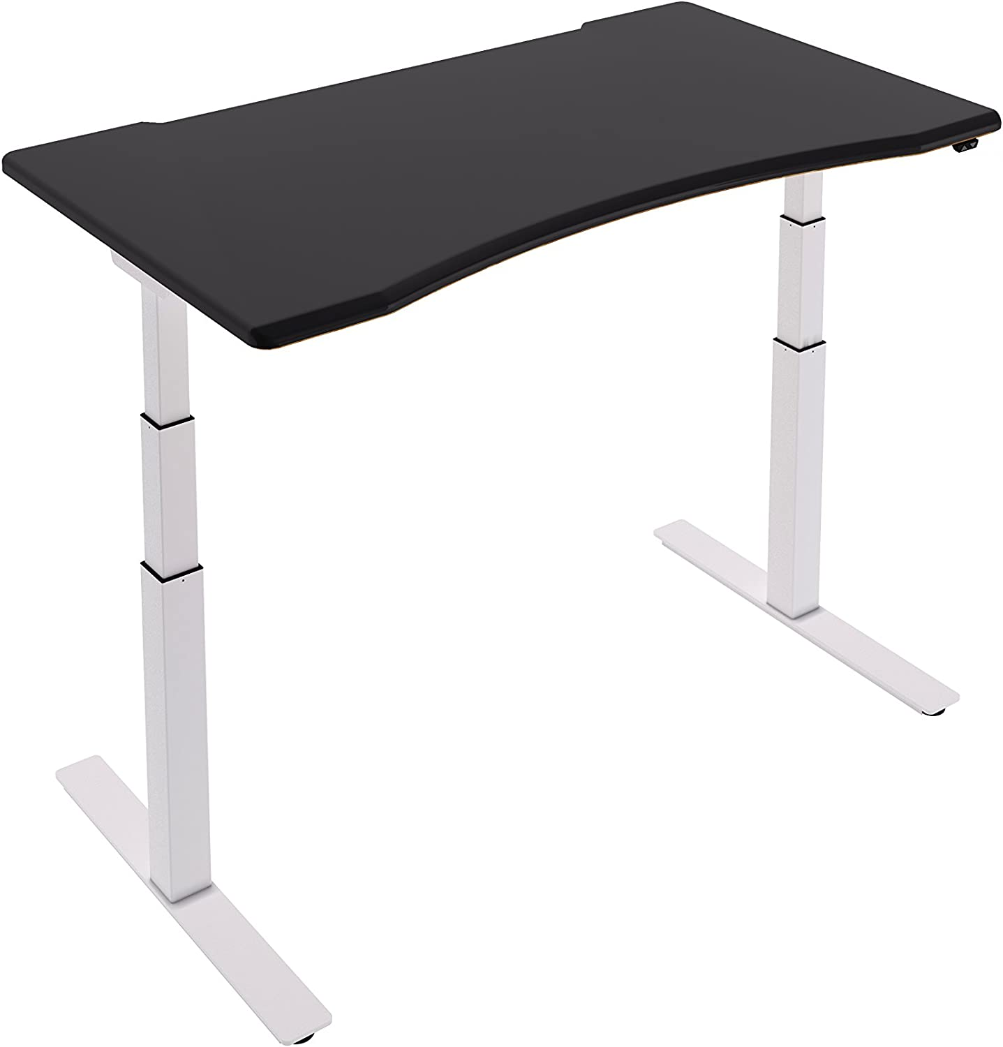 Assise Bureau électronique (Cadre Blanc), Ergonomic Black, Medium Ergo (1400 x 800)