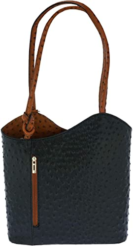 BAG EMMA GENUINE LEATHER WOMEN SHOULDER BAGS LARGE CROSSBODY ZIP TOP CLOSURE HOT