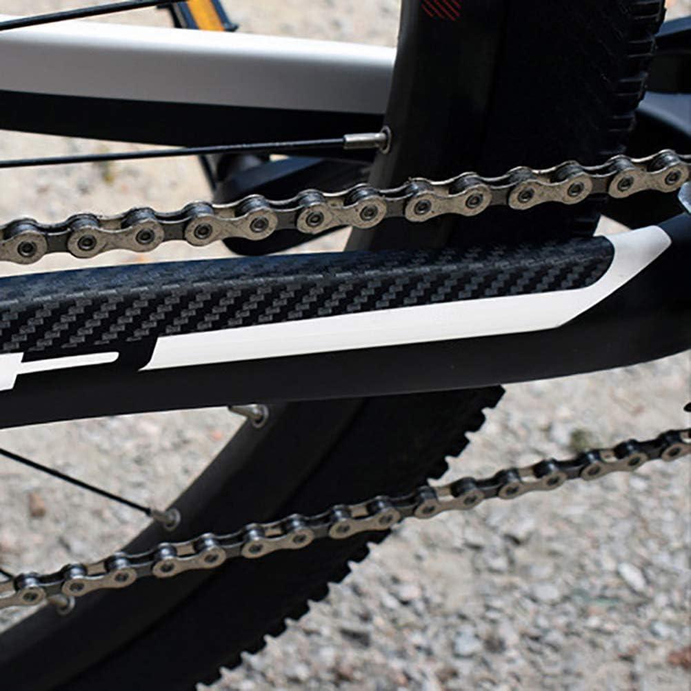 LIOOBO Pegatinas de Cuadro de Bicicleta Protector de Marco para ...