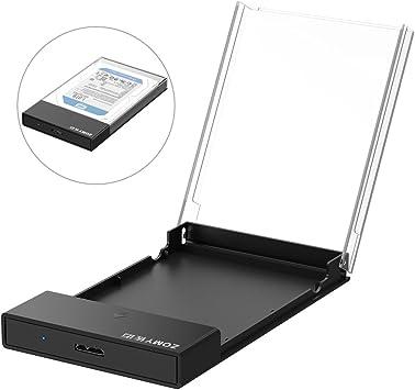 ZOMY - Carcasa para Disco Duro Externo USB 3.0 DE 2,5 Pulgadas ...