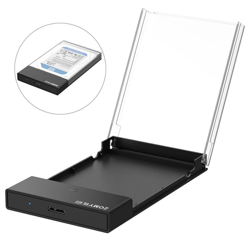 ZOMY Carcasa USB 3.0 caja Discos Duros 2,5