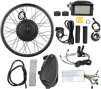 Caredy Kit de Bicicleta eléctrica, Kit de conversión de Motor de ...