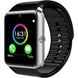 CHEREEKI Bluetooth Smart Watch con camera supporta SIM Card TF Card Touch Screen Smartwatch contapassi Braccialetto per smartphone Android