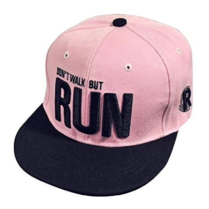 Xinantime Sombrero, Sombrero Hip Hop Adolescentes Gorra de Béisbol Ajustable Unisex (Rosa)