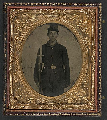 - HistoricalFindings Photo: American Civil War,Unidentified Soldier,Union Sack Coat,Forage Cap,1861-1865 1