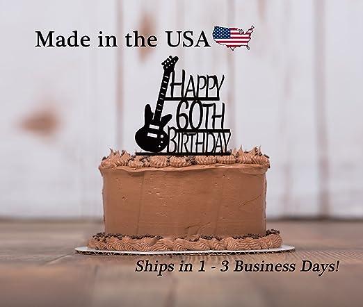 Decoración para tarta de guitarra eléctrica con base de ...