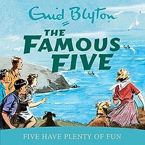 Famous Five: Five Have Plenty Of Fun Audiobook