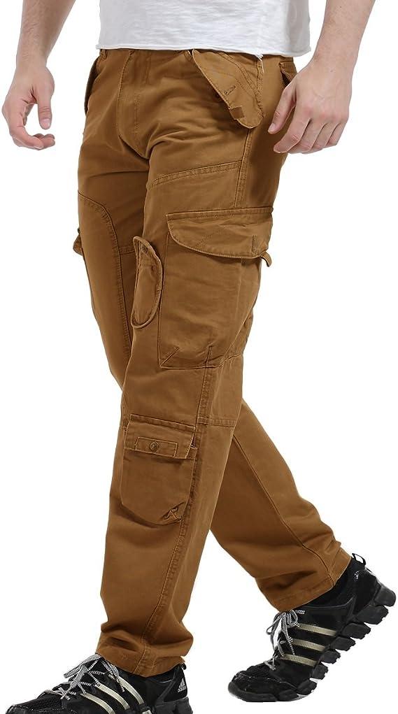 AYG Pantalon Laboral Hombre Cargo Pants Work Trousers Militar ...
