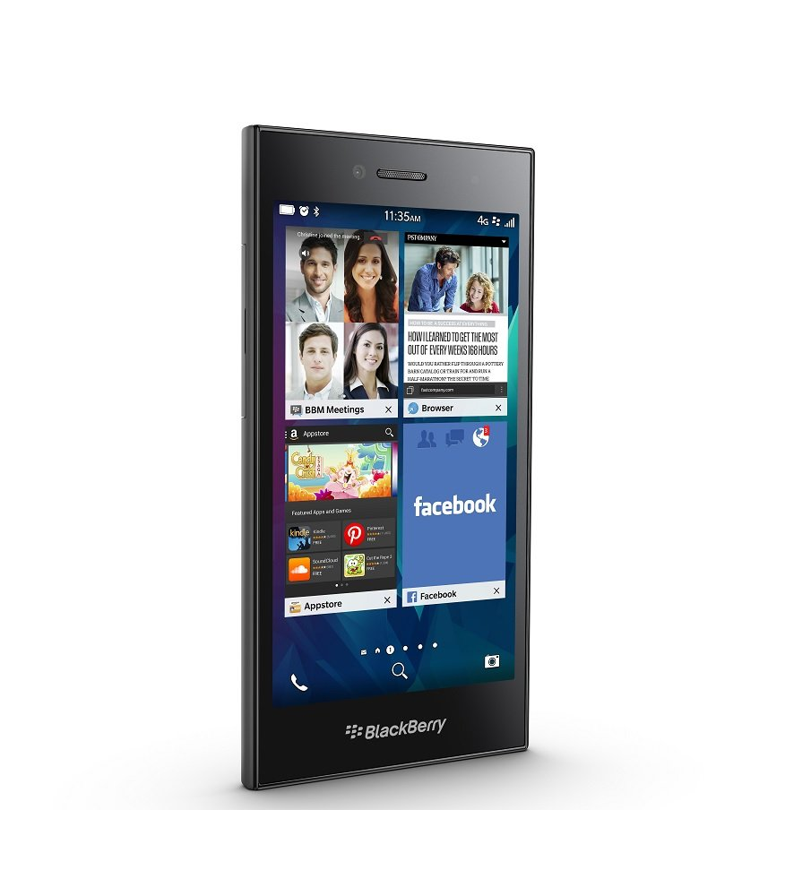 BlackBerry Leap 16GB Factory Unlocked GSM 4G LTE Smartphone - Shadow Grey by BlackBerry (Image #4)
