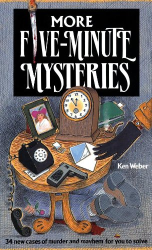 More Five-Minute Mysteries: 34 New Cases Of Murder And Mayhem For You To Solve PDF