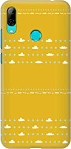 ستايلايزد غطاء هواوي Y7 برايم 2019 سهلة التركيب وبتصميم رقيق مطفي اللمعان