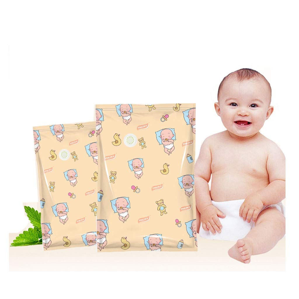 Vacuum compression bags Antibacterial Baby Storage Bag Clothing Quilt Large Household Thick Quilt Free Pumping Clothes Vacuum Bag by Vacuum compression bags