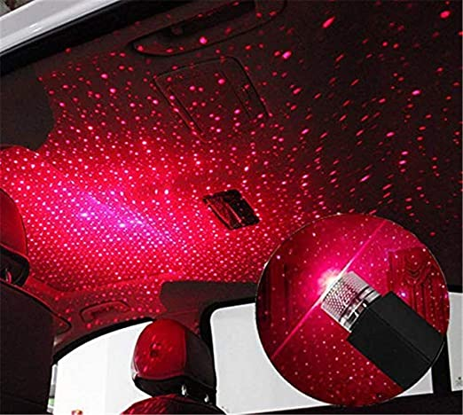 Plug and Play-Car and Home Ceiling Romantic USB Night Light Party Indoor Decors