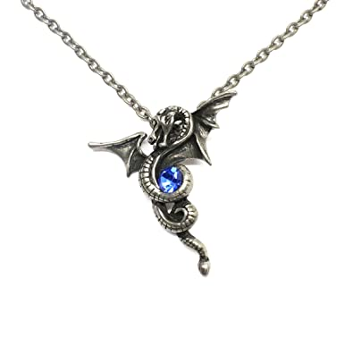 Gilind Gothic Bat or Dragon Necklace Jewelry (with Gift Box)
