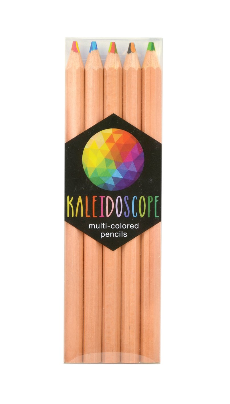 OOLY, Kaleidoscope Colored Pencils, Set of 5 (128-091)