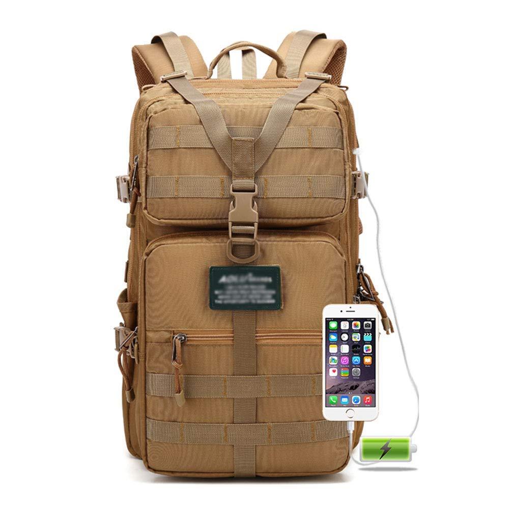 取り外し可能な袋の戦術的なリュックサックの大容量と抵抗力がある屋外の走行のバックパックの通気性の防水破損 (色 : #1) B07S7VZY2W #1